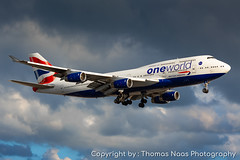 British Airways, G-CIVI : OneWorld