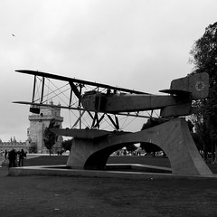 First aerial crossing of the South Atlantic - Monument to the flight