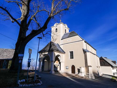 Schwanberg: W23 Wanderung nach St. Anna - Kirche St. Anna