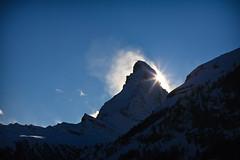 Sunset at the Matterhorn