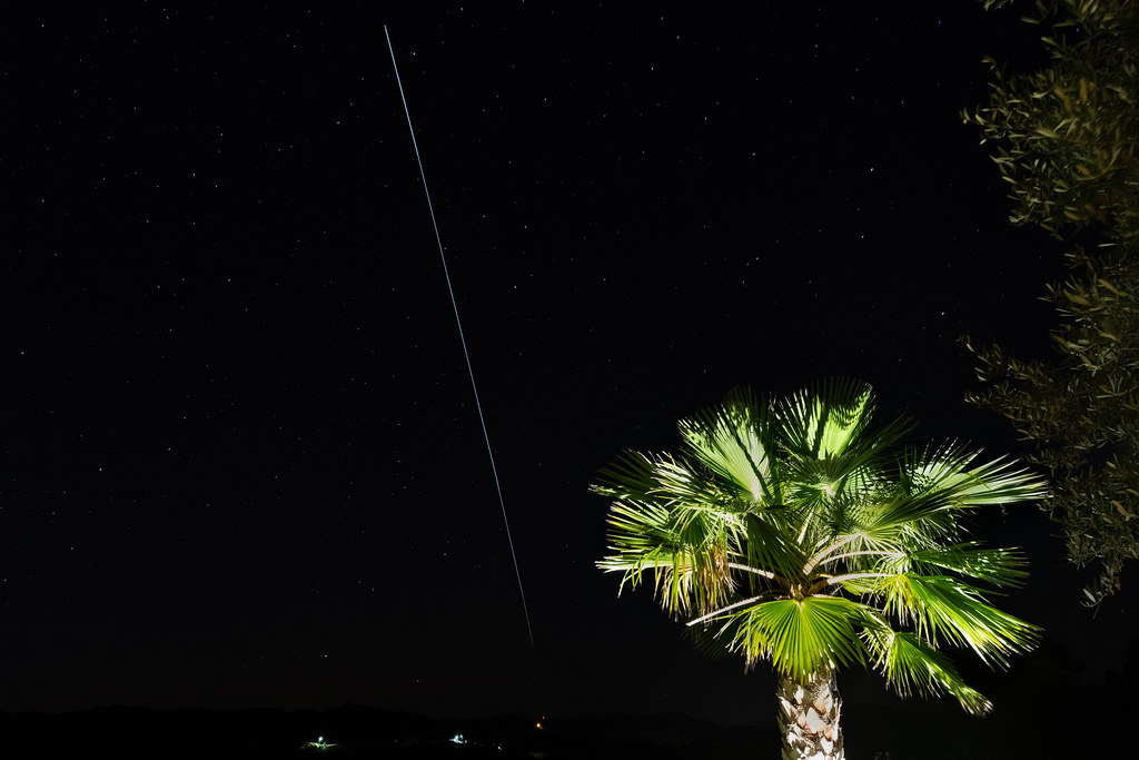 International Space Station Overhead Pass