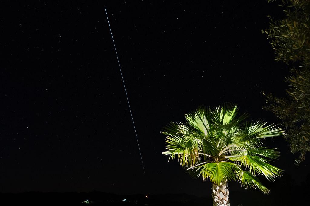 International Space Station Overhead Pass