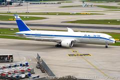 EL AL, 4X-EDF : Retro Logo-Jet