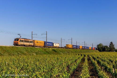 17 mai 2020 BB 26197 Train 50295 Dourges-Delta -> Perpignan Barsac (33)