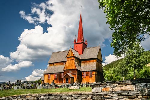Stabkirche Ringebu - Norway