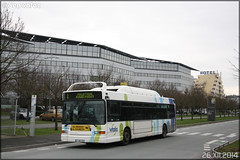 Heuliez Bus GX 317 GNV – RTP (Régie des Transports Poitevins) / Vitalis n°422