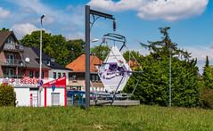 Denkmal für eine Strassenbahn Haltestelle