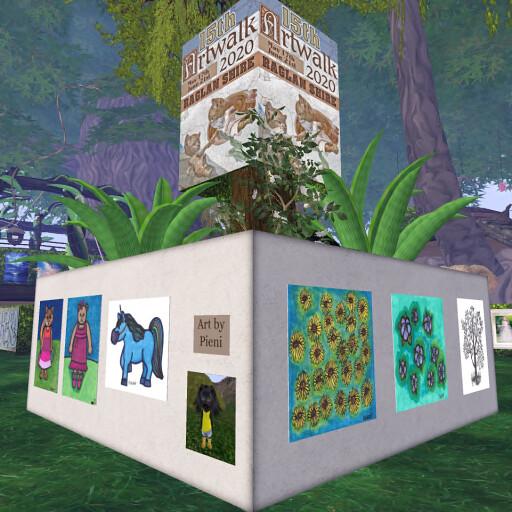 "Pie's spot at Art Walk 2020: <a href=""http://maps.secondlife.com/secondlife/Raglan Shire/118/105/55"" rel=""noreferrer nofollow"">maps.secondlife.com/secondlife/Raglan%20Shire/118/105/55</a>"