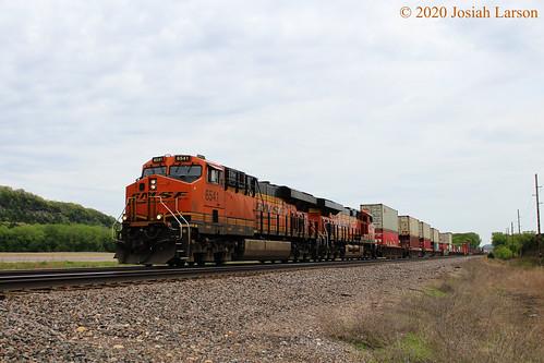 BNSF 6541 West