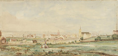 Sydney from Cleveland Paddocks, near present Central Station, Sydney, unidentified artist