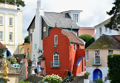 Portmeirion village / hotel