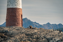 Les Éclaireurs Lighthouse, Ushuaia, Patagonia. Argentina