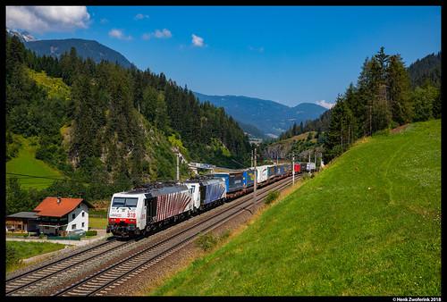 Lokomotion 189 918, Wolf am Brenner 03-08-2018