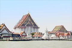 Le Wat Kalayanamitr (Bangkok, Thaïlande)