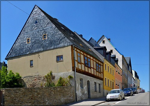 Fachwerkhaus auf der Amtsstraße in Marienberg