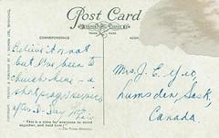 1943 Postcard Westminster Abbey 19b