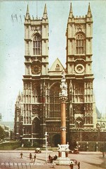 1943 Postcard Westminster Abbey 19a