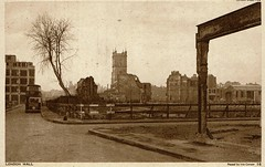 1943 Postcard London Wall 5a