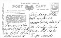 1943 Postcard Big Ben 03b