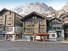 Suisse, Station de Ski de la ville de Zermatt