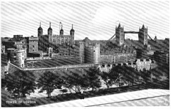 1943 Postcard Tower of London 01a