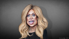 Kayleigh McEnany - Caricature
