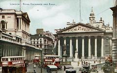 1943 Postcard Royal Exchange 11a