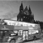 Heading home through Kings Cross St Pancras
