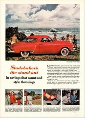 1949 Studebaker Commander Starlight Coupe