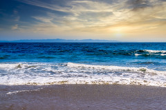 Santa Barbara Coastline and the Santa Catalina Islands