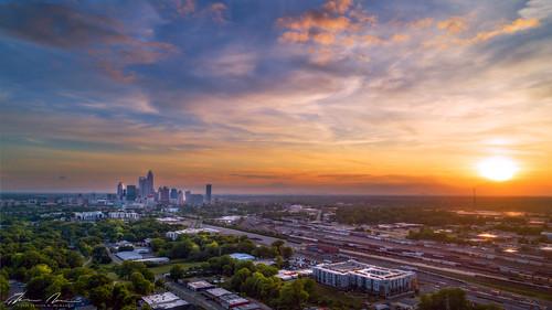 Queen City Sunset