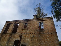 Adelaide Hills. Crafers. Arthurs Seat mansion built in 1875 for Henry Smith.  In 1926 became the Stawell boarding and finishing school. Destroyed by 1983 Adelaide Hills bushfires.