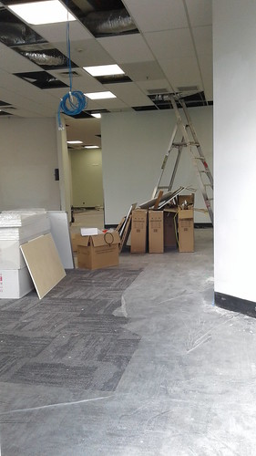 Shirley Library refurbishment underway