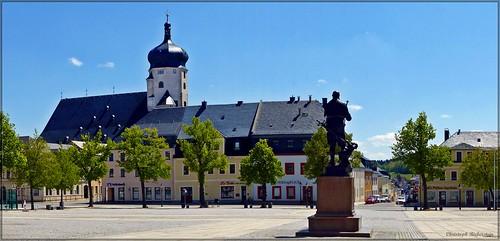 Marktplatz zu Marienberg