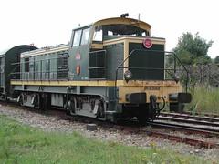 BB63069 Train touristique du Cotentin at Carteret terminus.