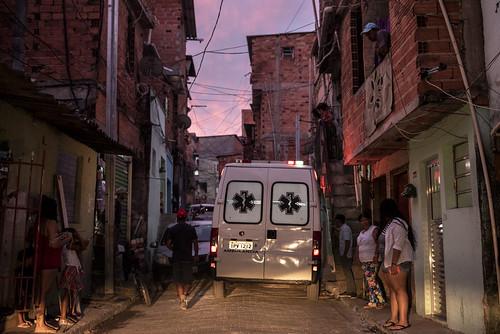 Covid-19 Sao Paulo: Emergency Paraisopolis