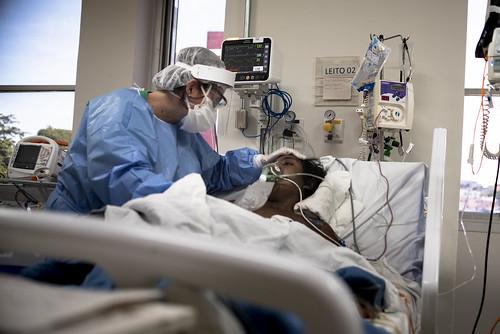 Covid-19 BRAZIL: Inside Sao Paulo's ICU