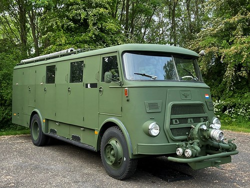 DAF (1965) BW-150, Trekker-Autospuit, KMC (NL)