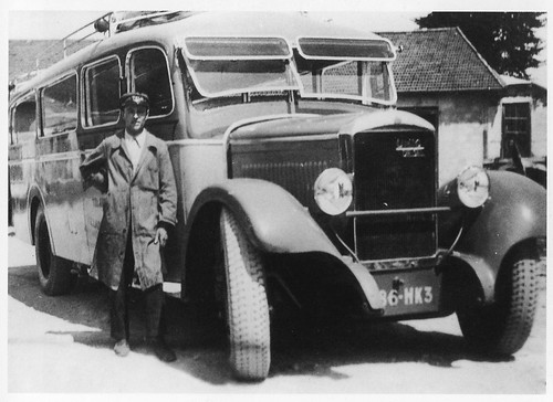 Postcard Unic Diesel Autocars D. Huillier Villard de Lans (38 Isère) 1932a