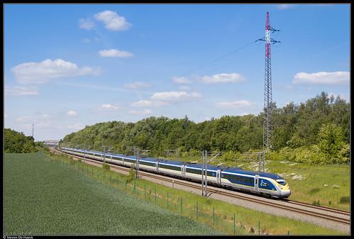 Eurostar 4033/4034 @ Petit-Enghien