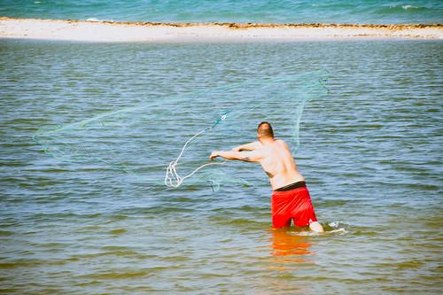 Pescatori col rezzaglio