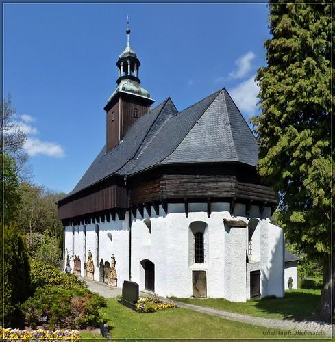 Wehrkirche zu Lauterbach bei Marienberg