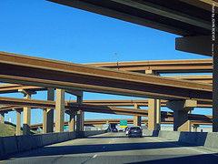 I-35W & I-820 in Fort Worth, 30 Dec 2019