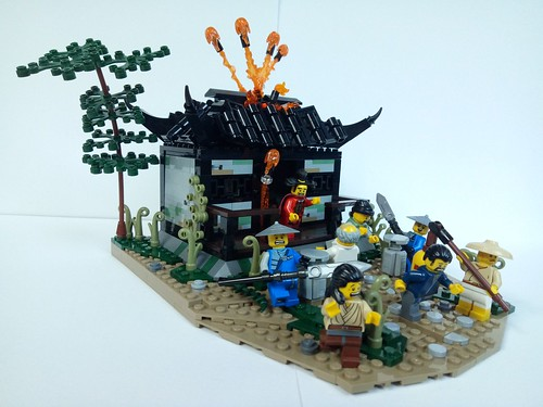 Water margin - Release of the 108 spirits