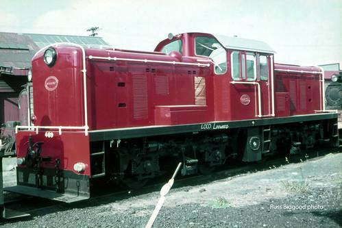 New Zealand Railways 411