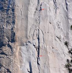 Climbing El Capitan, Yosemite National Park