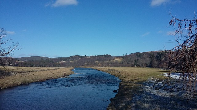 River Findhorn, Tomatin, March 2020