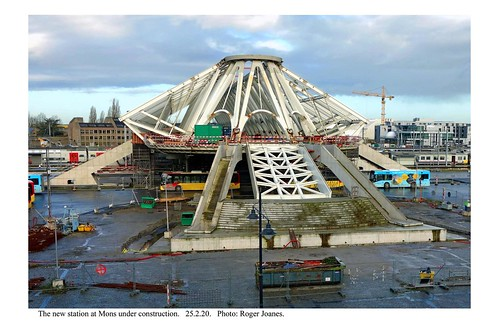 Mons. The new station under construction. 25.2.20 (3)