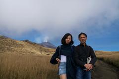 Father & Daughter, Mount Etna, Catania, Sicily, 意大利