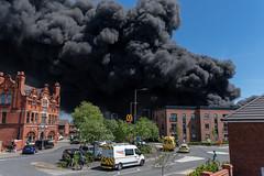 Sankey Valley Industrial Estate (Earlestown) Fire
